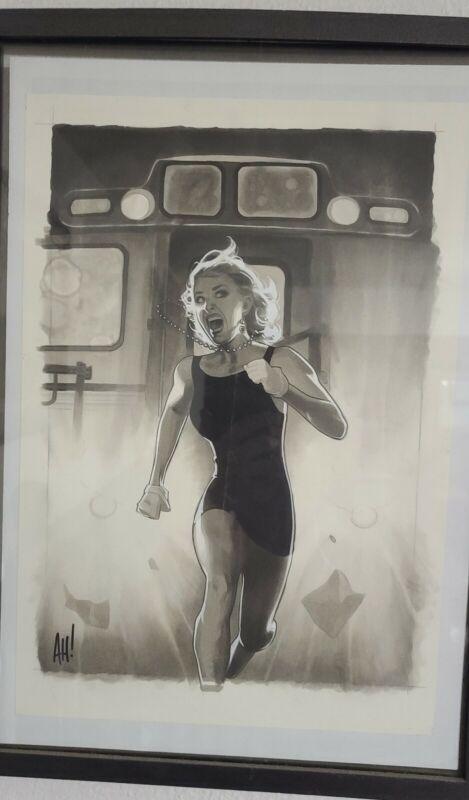 Fairest #26 original cover art by Adam Hughes!