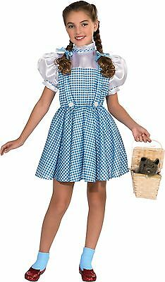 Rubies Wizard Of Oz Dorothy Kids Girls Children Halloween Costume 886488 - Childs Dorothy Wizard Of Oz Costume