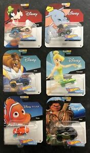Hot wheels NEW Mint Disney collection Series 3