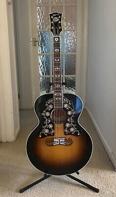 GIBSON SJ200 GUITAR BOB DYLAN PLAYERS EDITION IN MINT CONDITION/WITH GIBSON CASE