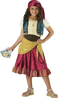Child Gypsy Fortune Teller Girls Costume](Gypsy Kid Costume)
