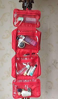 Travel Organizer Accessory Toiletry Cosmetics  Makeup Hanging Shaving kit Bag