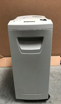 Fellowes Dm15c Confetti Paper Shredder 15 Sheet Staples Paperclips Cds Wheels