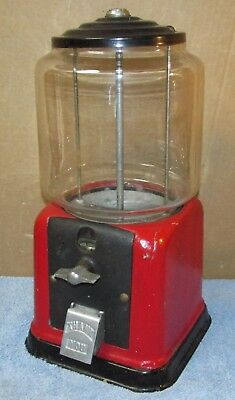 Vtg VICTOR VENDING VVC-45 Gumball/Candy Machine Coin Operated J356