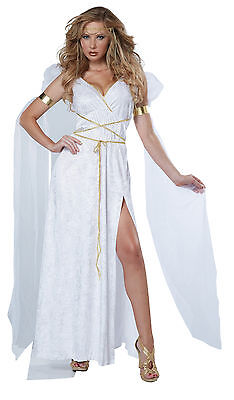 Athenian Goddess Greek Roman Empress Adult Costume (Adult Greek Goddess Costume)