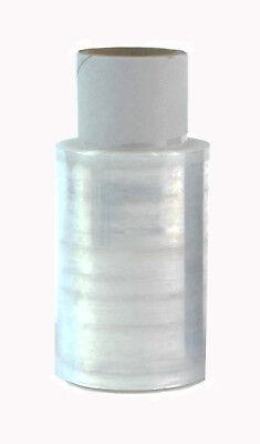 10 x Rollen  Strechfolie Verpackungsfolie 100 mm  mini transparent