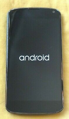 Unlocked LG Nexus 4 E960 E 960 16GB GSM Black Smartphone