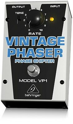 Behringer VP1 Vintage Phaser Guitar Stomp Box*