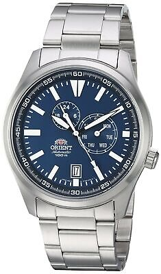 Orient Men's FET0N001D0 Defender Multi-Eye Function Blue Dial Watch