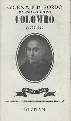 Giornale di bordo di Cristoforo Colombo. 1492 1493