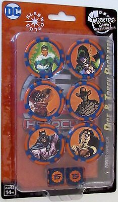 DC HeroClix 15th Anniversary ELSEWORLDS DICE AND TOKEN PACK
