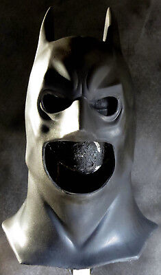 Batman Begins Costume (Your Batman Begins Cowl/ Costume Mask & Suit can use High Quality Latex)