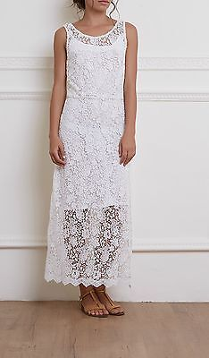 Lace can be classy for SS16. From Ebay: poshsnobriete01