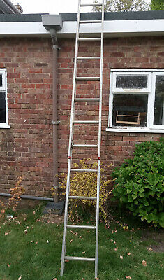 extending alluminium ladder - used