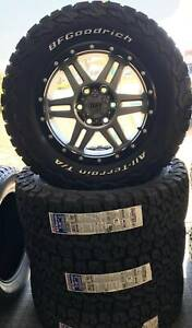 WHEEL & TYRE PACKAGE TUFF 20x9 & BFG 285/55R20 Coorparoo Brisbane South East Preview