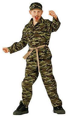 Armee Kinder Kostüme (★ Soldat,Ranger Tarnanzug,Söldner,Kämpfer Armee,Kostüm Kinder 98-122 Militär)