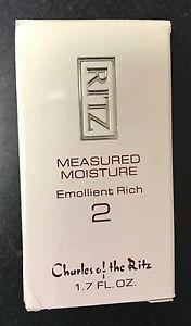 Charles of the Ritz  Measured Moisture Emolient Rich 2 1.7 fl oz
