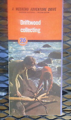 1963 So  California AZ  Driftwood Collection weekend drive map Union 76 oil gas