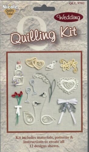 Wedding Quilling Kit by Nicole - NEW