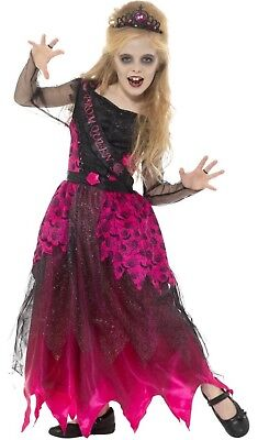Girls School Gothic Prom Queen Carrie Halloween Fancy - Gothic Prom Queen Halloween Kostüm
