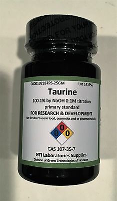 Taurine 100.1 By Naoh 0.1m Titration Primary Standard 25g