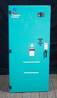 Onan Cummins 300 Amp Transfer Switch 4p 3ph Otc-3377100 Ats 0306-3491-07