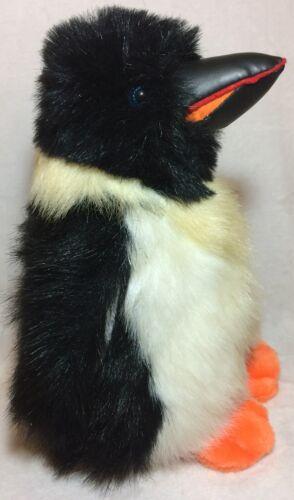 "Realistic Penguin Plush Stuffed Animal Toy America Wego 12"" Emperor King ? - HTF"