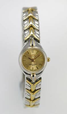 Activa Womens Watch Stainless Silver Gold 30m Water Resistant Battery Quartz