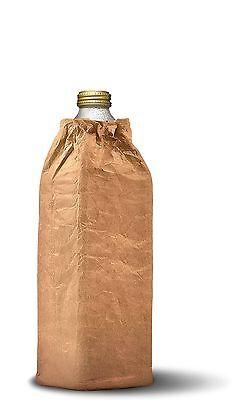 Insulated Wine Bottle Cooler Bag Bottle Brown Bag Fits 40oz Beer Hobo Koozie
