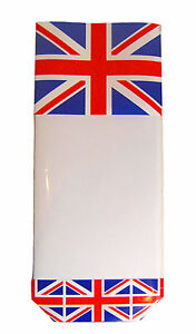 50 x UNION JACK Block Bottom Clear Candy Sweet Bag Queen's Birthday Party Bags
