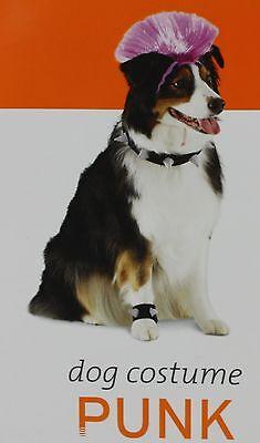 Halloween Punk Pet Dog Costume Size Medium/Large 15-50 lbs 12-22 in NWT