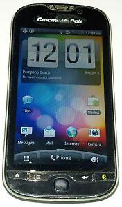 HTC Panache 4GB Black (Cincinnati Bell) Smartphone Good Condition