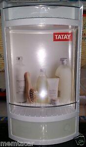 Estanteria plastico con cajon blanco ideal wc ba o se - Estanteria encima wc ...