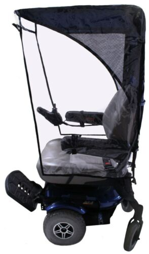 Max Protection Weatherbreaker Canopy For Mobility Scooters & Power Wheelchairs