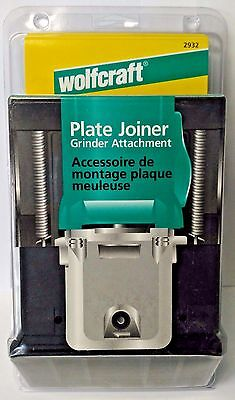 Wolfcraft 2932 Plate Joiner Grinder Attachment Germany
