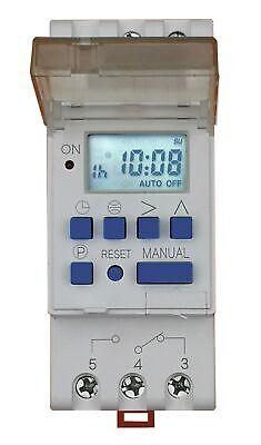 AHD16T digitale Zeitschaltuhr Hutschiene Tag Woche ASTRO Funktion So/Winterzeit