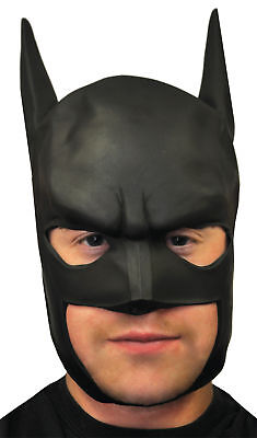Batman Adult Mask Famous Superhero Realistic Movie Black Theme Party Halloween