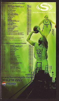 State Hornets Basketball - Sacramento State Hornets--2005-06 Basketball Magnet Schedule