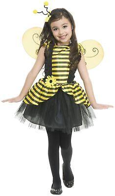 BRAND NEW, SWEET BEE Deluxe Girl's Bumblebee Halloween Costume SIZE 10-12 (Girls Bumble Bee Costume)