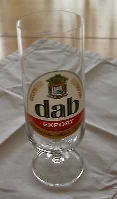 dab Export Bierglas 0,25 l (ohne Eich-Strich) gebraucht kaufen  Bad Honnef