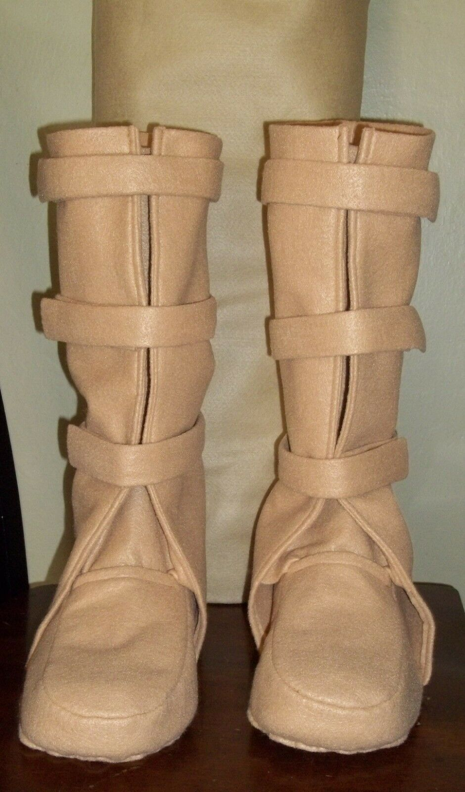 Bespin Boots Costume Shoe Covers That Luke Wore On Dagobah No-paint Design  - $70.00
