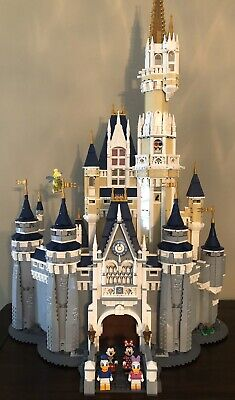 LEGO Disney Princess Castle (71040)  ALL PIECES, BOX & INSTRUCTIONS included
