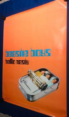 vintage 1998 GIANT Beastie Boys Hello Nasty PROMO POSTER UNUSED 36x48in