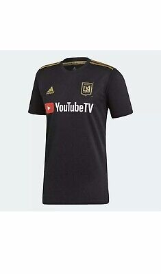 New adidas soccer jersey 2019 2020 Los Angeles Football Club MLS DY0313 SIZE XL