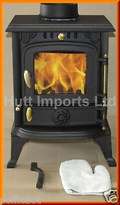 Cast Iron wood burning, Multi fuel stove fire 4.5 Kw  New HI013s  JA013s