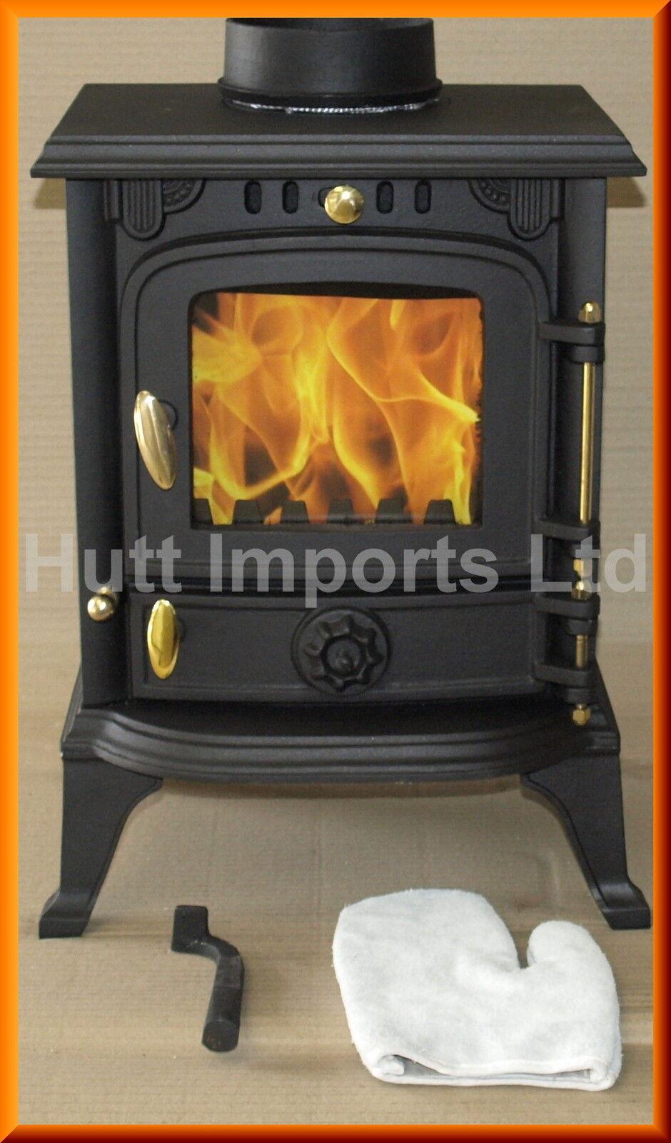 Cast Iron wood burning, Multi fuel stove fire 4.5Kw New HI013s JA013s CE 5kw 6kw