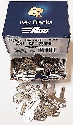 Taylor KW1 Nickel Key Blanks
