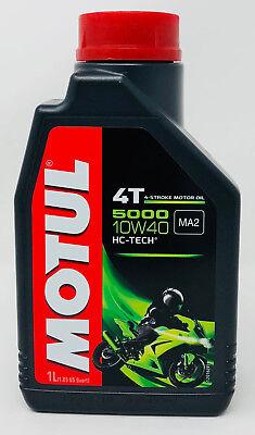 Lubricante Aceite Moto 4 tiempos Semi Syn MOTUL 5000 4T 10W40, 1...