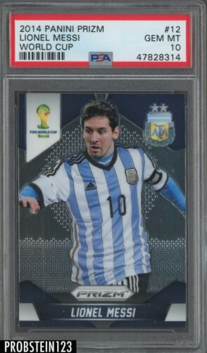 Panini Prizm World Cup 2018 Complete 12 Card Argentina Team Set