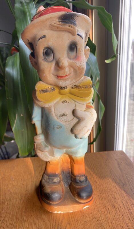 Vintage  Pinocchio Figure Disney Carnival Chalkware